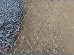 Banheira médios PVC galvanizado revestido de Compensação de Malha de Arame Hexagonal/Gabião Caixas/Compartimento da Pedra