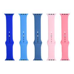 Bracelet en silicone Apple colorés