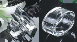 Anel de guardanapo cristal (RNM005)