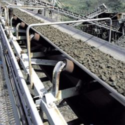 Industrieller Gebrauch für das Bergbau Kohleenergie-Pflanzendes gebogenen Gummiberufsrohr-Langstreckenriemens, welche Massentransportorganisations-Förderanlagen übermittelt