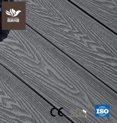 Деревянные зерна 100 % переработанных материалов глубокое тиснение пол