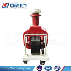 10kVA/Frecuencia de alimentación de 100kv tipo seco transformador pruebas Hipot HV