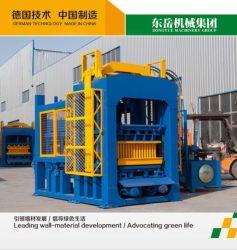 O Qt6-15 Planta máquina de fabrico de blocos de betão totalmente automática