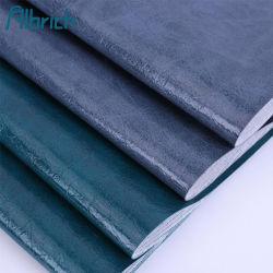 Cuoio artificiale del sofà del tessuto del PVC della cera dell'olio per il tessuto di cuoio respirabile impermeabile dell'unità di elaborazione del PVC della mobilia per mobilia