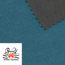 Étoffes de bonneterie de verrouillage de l'humidité Jacquard antimicrobiens respirant tricot à mailles tissu mèche