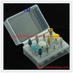 Polimento composto de borracha Kit Dental de dentista pega