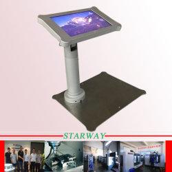 Feuille de Métal de service de fabrication pour l'aluminium de présentoir par découpage et de soudage laser de précision