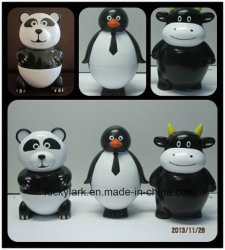 3oz /80ml de forma animal Panda Cartoon Sorvete Promoção Cup