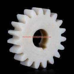シャフトのためのOEMの高品質のプラスチック拍車/斜角/王冠/ワーム/螺旋形のスプロケットギヤ