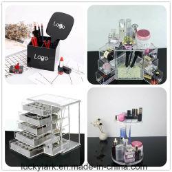 Organizador de acrílico caso o titular Batom Luxury Design jóias Caixa de Embalagem embalagem Cosméticos