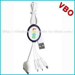 Рекламные Micro 4 в 1 зарядное устройство USB Многофункциональный кабель передача данных (CSI-668)