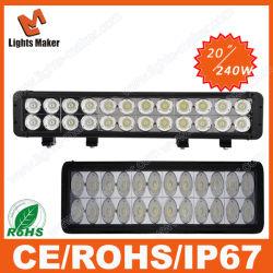 240W Accessoires De Voiture Offroad 4X4 LED lampe de travail phare LED 20pouce pour le camion de gros Le témoin Auto IP67