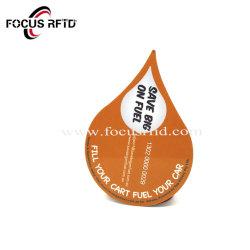 De forma personalizada ID IC Min Card Tarjeta de plástico de RFID para la Asistencia y Control de acceso