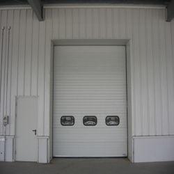 Puerta Seccional de la industria de la industria deslizante/Almacén automático de la puerta/Puerta basculante de la industria (HF-019)