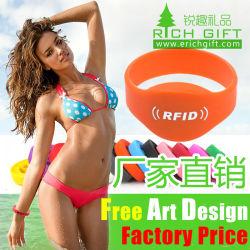 Benutzerdefiniertes umweltfreundliches NFC/RFID-Seidenband mit Wasserdichtem Material
