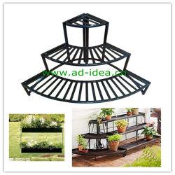 Peuplement de plantes de jardin en métal, l'usine de présentoir (AD-GDS-9871)