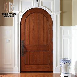 Dessin de l'intérieur de l'art Round Top Design porte de la salle de porte à charnière pour la maison