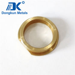 Adaptado de cobre de mecanizado CNC Bush