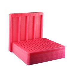 주문 빨강 EPE 방석 포장 거품 패드