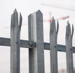 China Palisade valla de acero galvanizado para Telecom Proveedor de la torre
