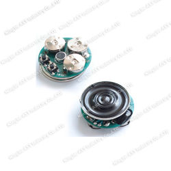 Módulo de som para gravação, o Gravador de som para mini gravador de cartão postal