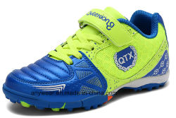 子供のフットボールは起動するサッカーの泥炭の靴(120)を