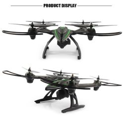 259506g-2.4GHz, 4 Canal 6 de l'axe Quadcopter Gyro RTF