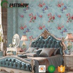 تغطية حائط الصفحة الرئيسية من PVC الزهري