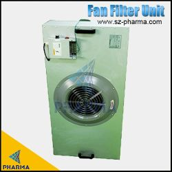 H14 UFF Filtro HEPA motorizados do ventilador para salas brancas