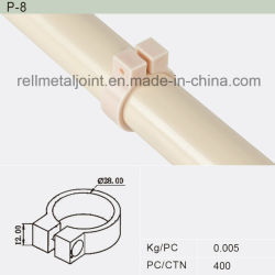 Junta de plástico e acessório para tubo de paletes (P-8)