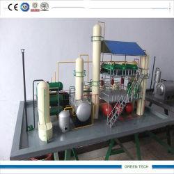 Verwendetes Dieselöl, das Gerät aufbereitet