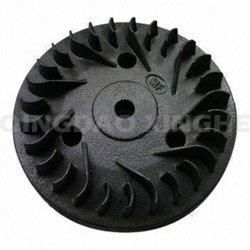 Moulage de la cire perdue Turbo personnalisé le rotor avec peinture noire