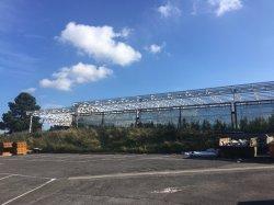 Light Steel Structure Pavilion Building/Workhouse Met Pir-Isolatie 2017