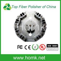 Pulido de fibra de fibra óptica de la plantilla la plantilla de pulido (LC dúplex)