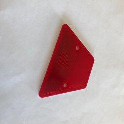 Blanc Rouge Jaune délinéateur Rectangle réflecteur prismatique