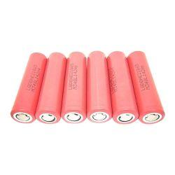 18.650 cilíndrico Batería de litio recargable para E-cigarrillo