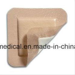 Silberner Schaumgummi, der antibiotischen Schaumgummi-Behandlungs-Silikon-Kleber für Wunden kleidet