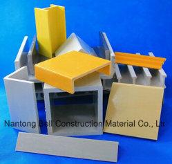 Profils à impulsion FRP, extrusion structurale en plastique renforcé de fibre de verre