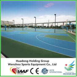 Tipo de Pavimentos de caucho al aire libre pisos deportivos para fútbol sala, baloncesto, voleibol, balonmano, pista de tenis