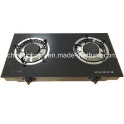 verre trempé 2 brûleurs Top 100#brûleur en aluminium cuisinière à gaz/cuisinière à gaz