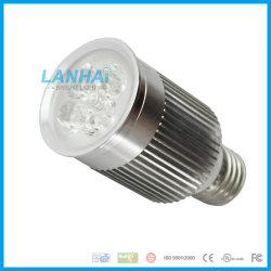 Riflettore chiaro di alluminio della tazza 4W E27 LED di alto potere