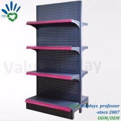 Conservare Il Ripiano Rack Per Display Supermarket Con Fori Perforati