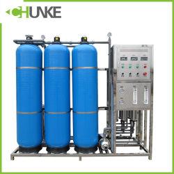 معدات معالجة المياه التلقائية RO 1000L/H المعتمدة من Chunke CE