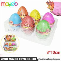 Jumbo magico di sorpresa che cresce covante i giocattoli dell'uovo di dinosauro
