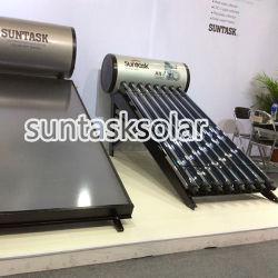 Haute pression conduit de chaleur solaire compact tube sous vide d'eau chaude (A9H)