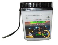 de Conventionele Overstroomde Batterij van de Motorfiets van het Lood 6n4-2A-4dy 6V4ah Zure Droge Geladen