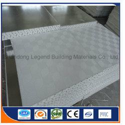 Les carreaux de plafond en plâtre laminé PVC/PVC faux plafond en plâtre avec du papier aluminium