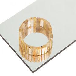 PE PVDF Coating Mirror Material composto de alumínio