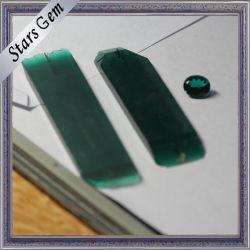 Verde Escuro do Laboratório de alta qualidade criados Emerald matéria-prima de Modo Irregular