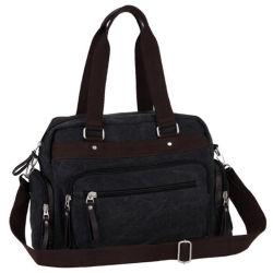 Новые поступления черная женская сумка с плеча Diaper полотенного транспортера для женщин